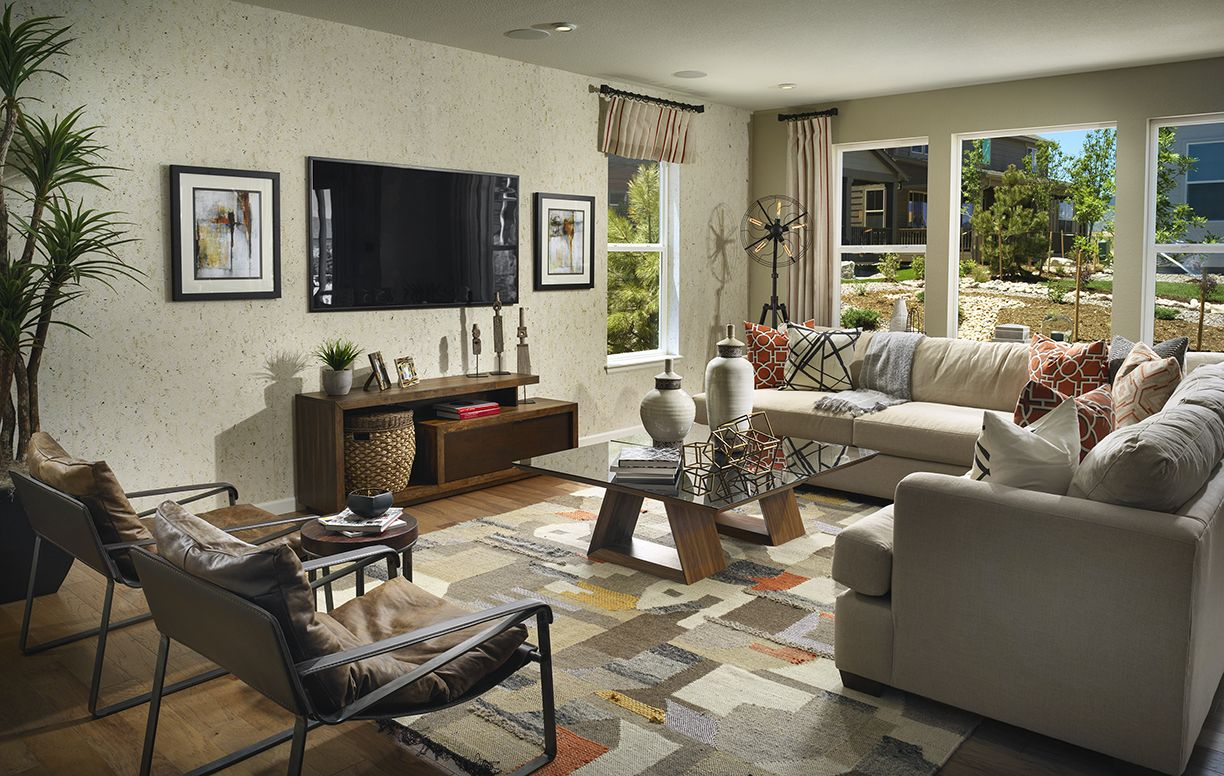 Sterling Ranch Canyon Family Room